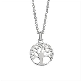 Auranto Silberkette Lebensbaum