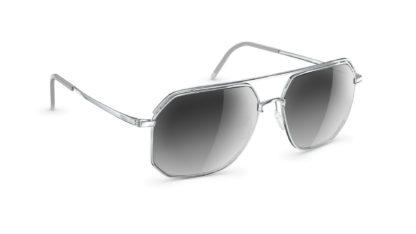 Neubau Herrensonnenbrille eclectic silver