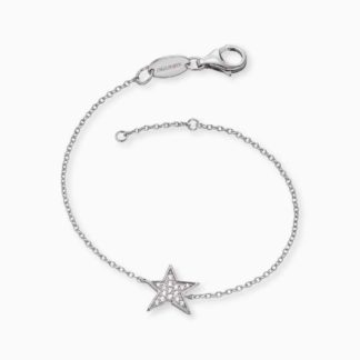 Armband Stern Silber mit Zirkonia