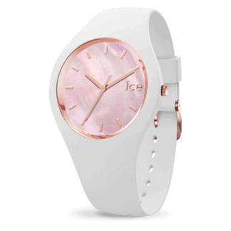 Ice Watch Damenuhr ICE Pearl white pink M