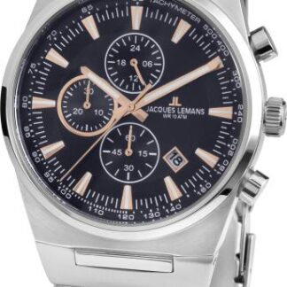 Jacques Lemans Chronograph Herrenuhr Manchester