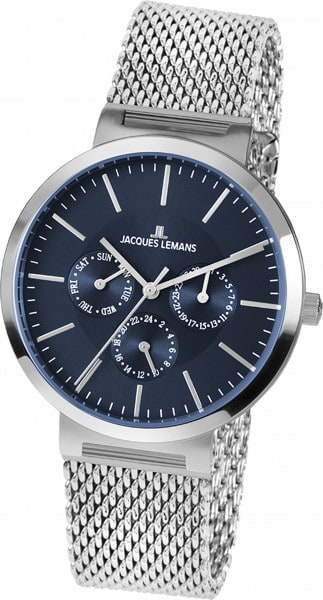 Jacques Lemans Multifunktion Milano blau